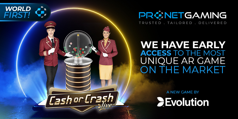 Pronet Gaming among first to release new live game show from Evolution