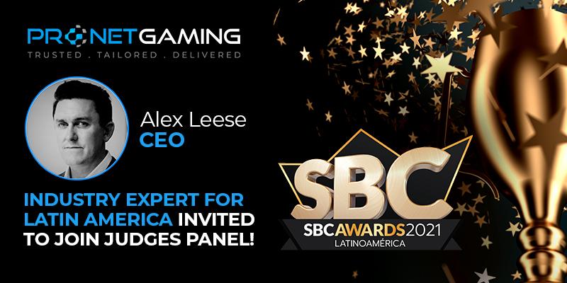Pronet Gaming CEO to judge SBC Awards Latinoamérica